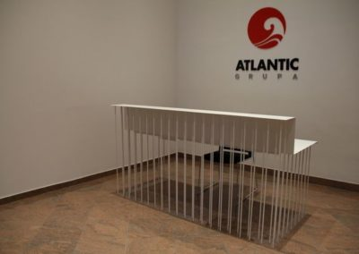 Prijemni pult Atlantic Grupe u Beču