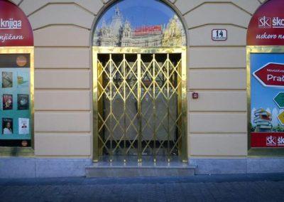 Mesingani ulaz i ograda Školske knjige